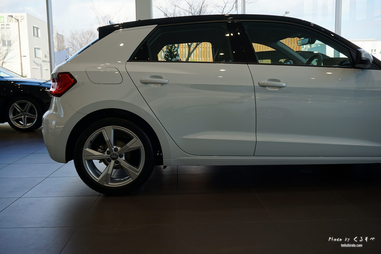 Audi A1 Sportback エクステリア Cピラー