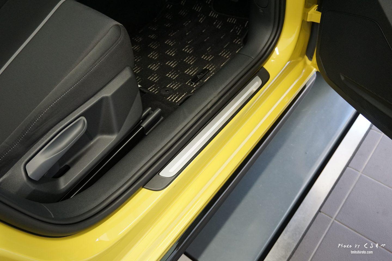 Audi A1 Sportback インテリア スカッフプレート