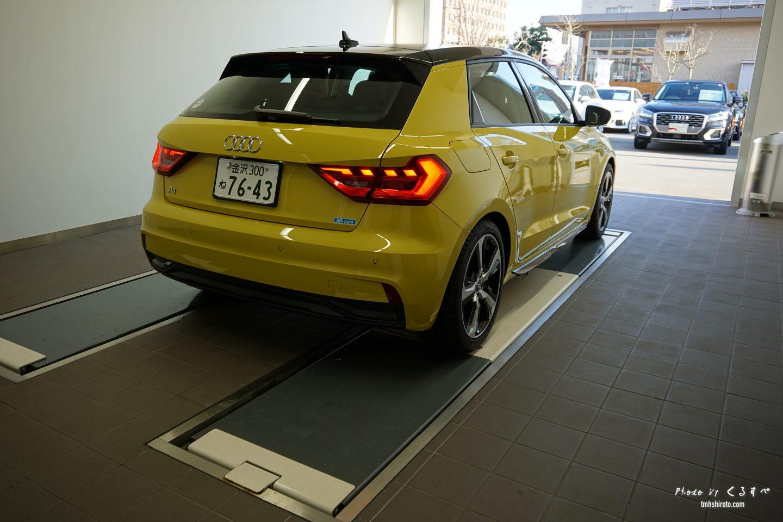 Audi A1 Sportback エクステリア リア