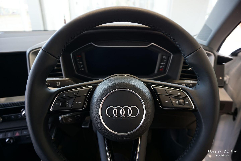 Audi A1 Sportback ステアリング