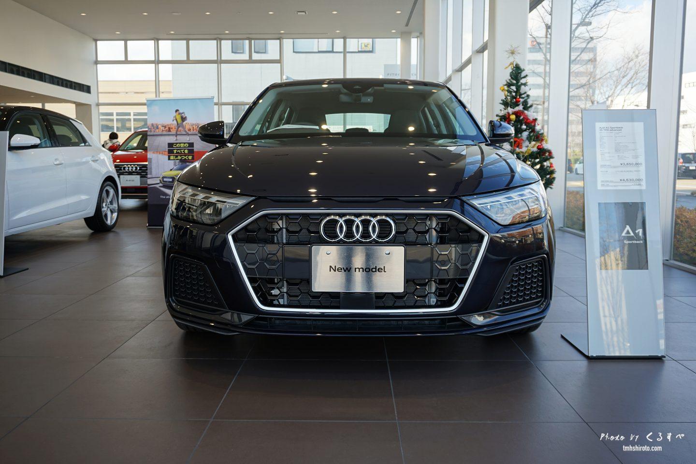 Audi A1 Sportback ブラック フロントフェイス