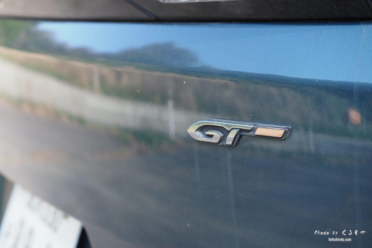 5008 GTのGTロゴ