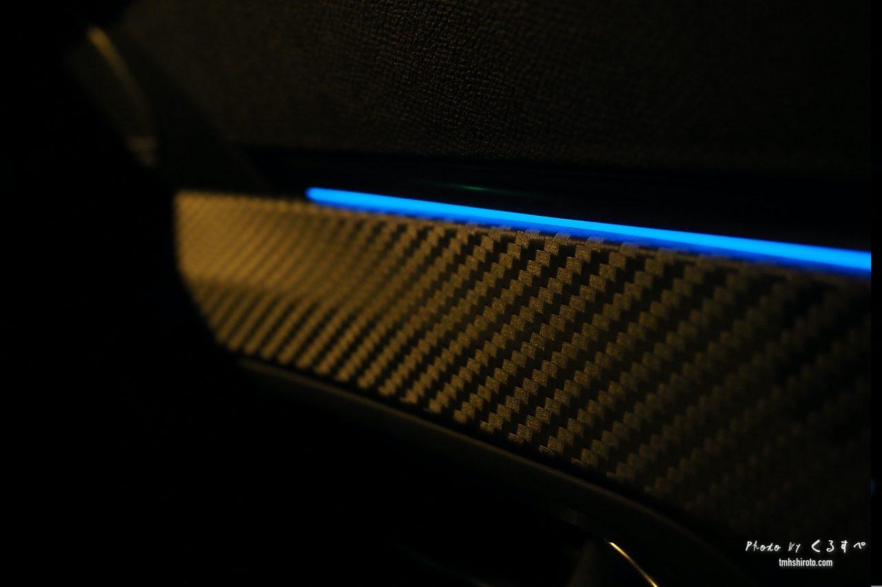 508SW GT Lineのドアトリムアンビエンスライト