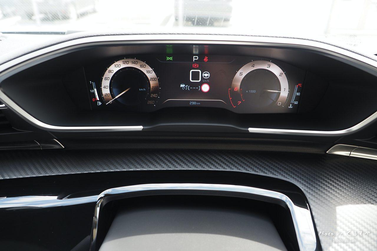 508SW GT Lineのデジタル液晶メーター(コッパー)