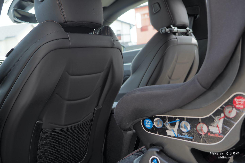 508SWの運転席助手席シートの背面デザイン