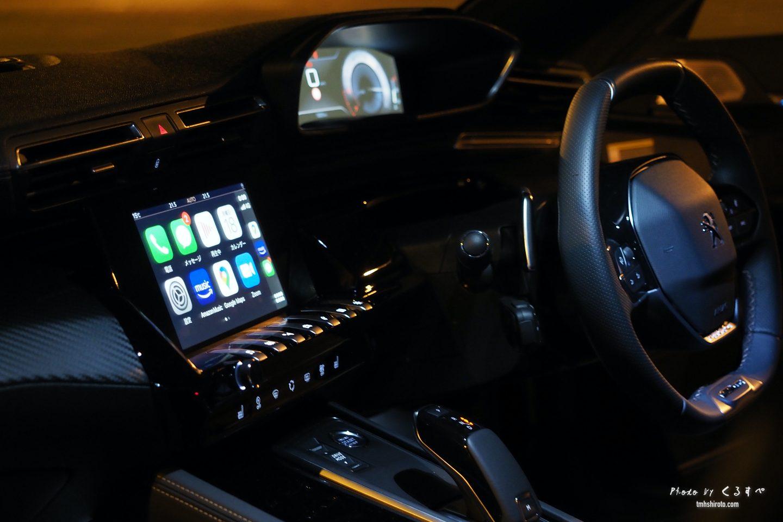 508SWのi-Cockpit(夜)