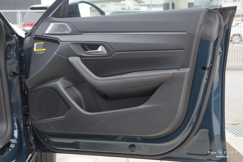 508SWの運転席ドアトリム