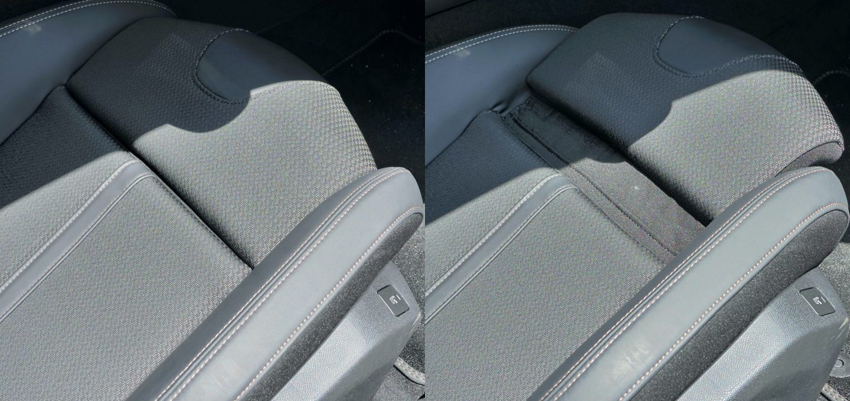 508SWの運転席シート座面長さ調整範囲