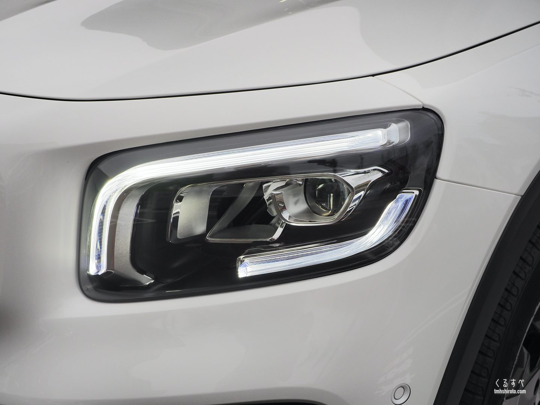 GLB 200d ヘッドライト