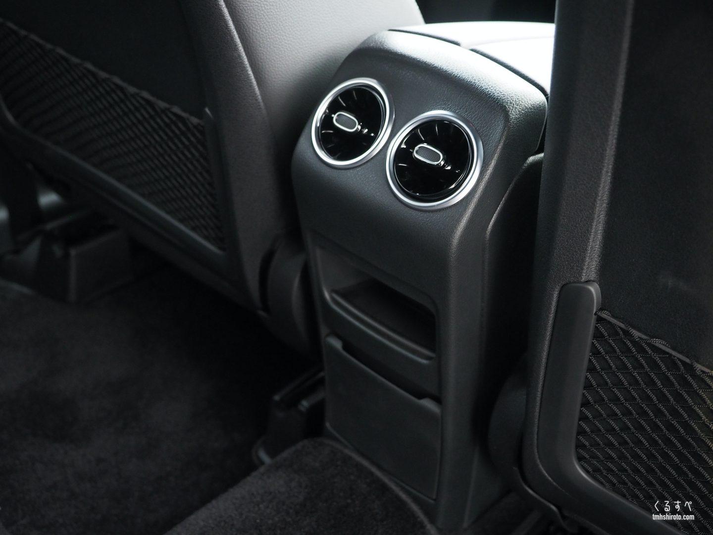 GLB 200d 後席用エアコン