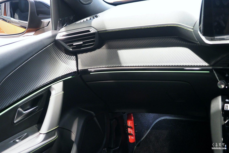 SUV 2008 GT Lineのダッシュボード