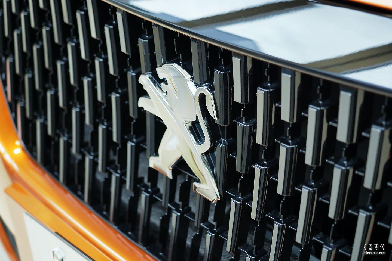 SUV 2008 GT Lineのフロントグリル