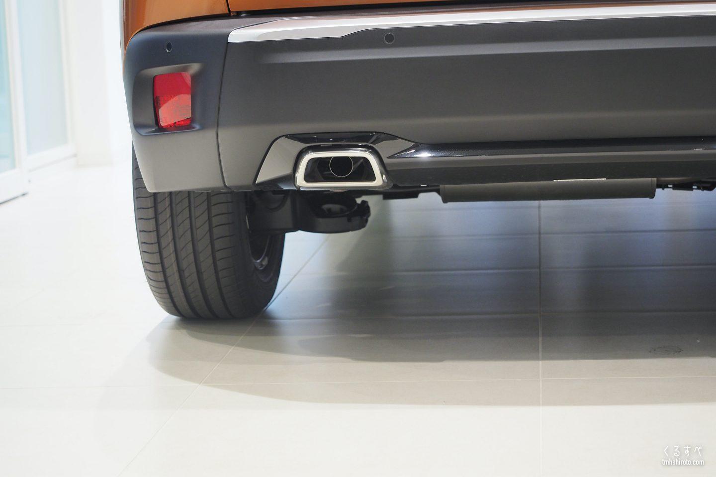 SUV 2008のクロームエキゾーストエンド