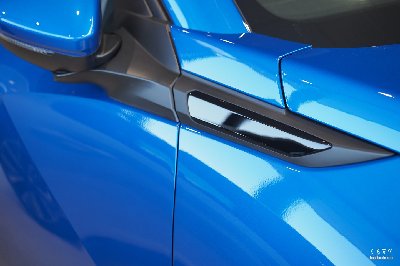 SUV 2008 Allureのドアミラー付け根