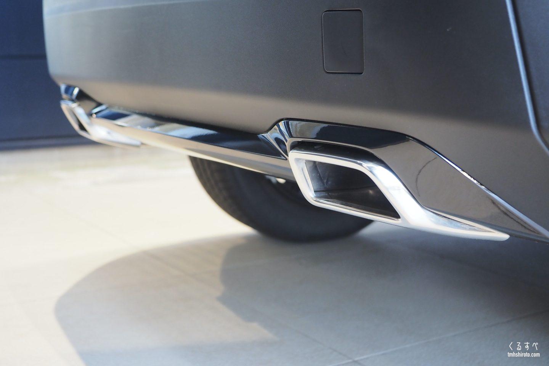 SUV 2008のクロームエキゾーストエンド(Allureにも標準装備)
