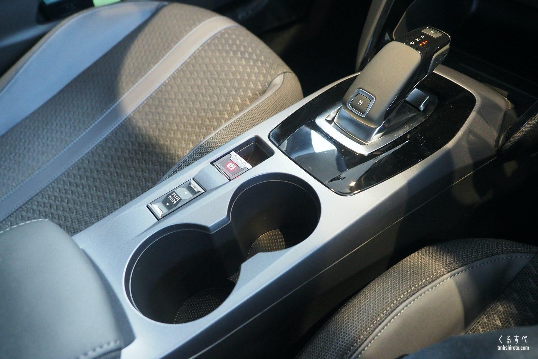 SUV 2008 Allureのシフトノブ周り(シルバー塗装)
