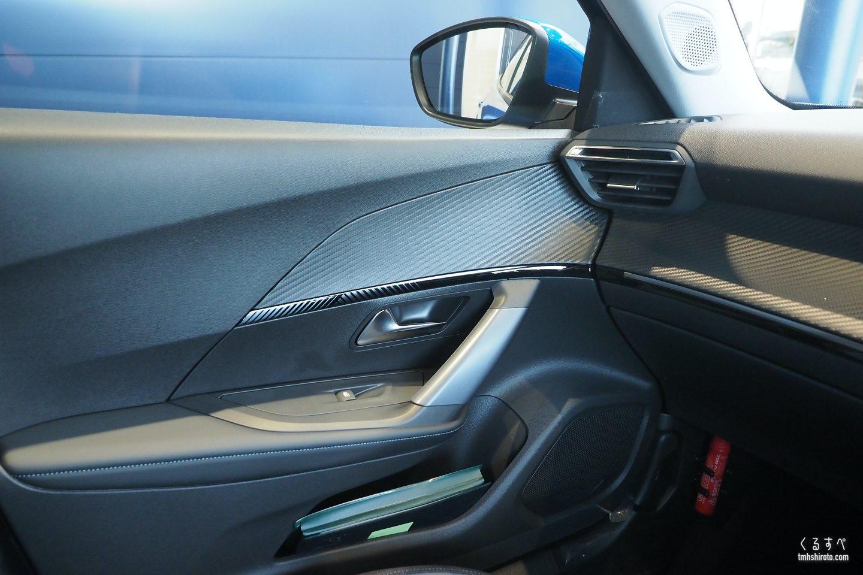 SUV 2008 Allureのドアトリムとダッシュボード