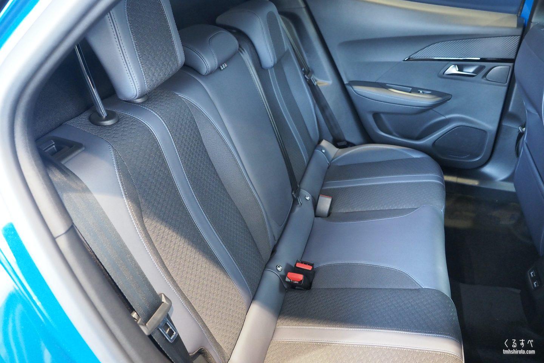 SUV 2008 Allureのリアシート(ファブリック素材)
