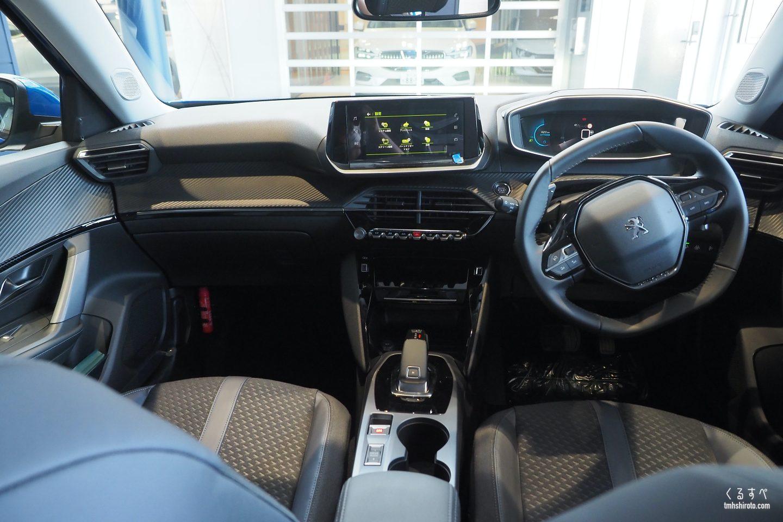 SUV 2008 Allureの運転席周り全貌