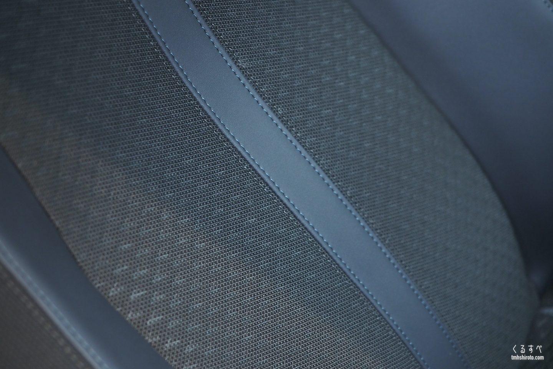 SUV 2008 Allureのアルカンタラシート(アップ)