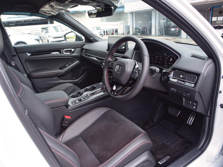 ホンダ シビック(FL1型) EXの内装(運転席からの眺め)